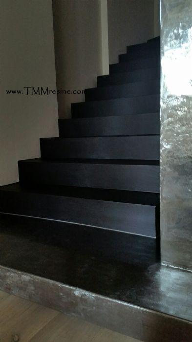 Realizzazioni tmm resine faenza - Resina per scale ...